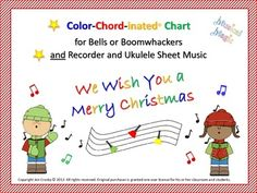 We Wish You a Merry Christmas - for Bells and/or Boomwhack