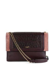 Sugar leather shoulder bag   Lanvin   MATCHESFASHION.COM US