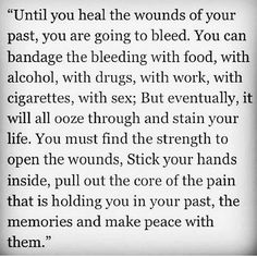 This pretty much sums it up. It will NOT happen over night or in a day. If you can reach in a pull out the root, the pain+suffering won't be able to grow again. Love+Peace .mg. #Recovery #Addiction #Sobriety