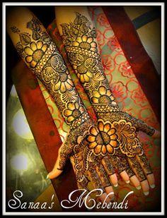 Daisy design henna