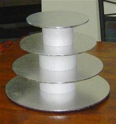 DIY cupcake stand How 2 Cakes