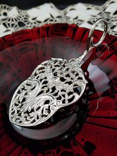 Mycyberattic.etsy.com  in my Etsy shop https://www.etsy.com/listing/554773563/vintage-ornate-silver-plated-pastry