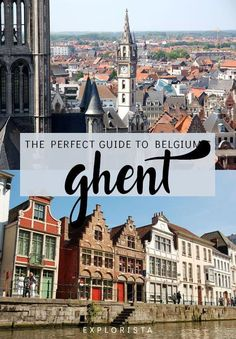 Here are 10 travel tips for Ghent, Belgium! There's plenty to see in this charmi… Here are 10 travel tips for Ghent, Belgium! There's plenty to see in this charming town. Travel Around Europe, Europe Travel Guide, Travel Guides, Travelling Europe, Traveling, Europe Packing, Visit Belgium, Ghent Belgium, Places To Travel