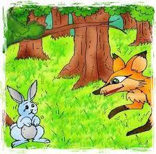 قصة الأرنب والثعلب المكار