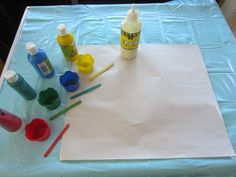 Learn with Play at home: PVA Painting
