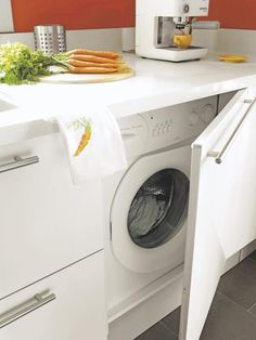 esconder lavadora