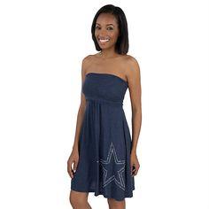 Dallas Cowboys Women s Childress Tube Dress 7306f211a