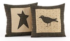 Pillow covers are a quick and easy way to perk up your room. Of course we also carry the insert, but simply changing a pillow cover is just that.. SIMPLE! These are from the Kettle Grove Collection available from CountryPorch.com