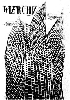 Roman Cieslewicz Wierchy 1961