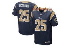 Men Los Angeles Rams #25 Elite Jersey #NFLFans #EliteJersey #Personality #Jersey #RamsFans #Jerseys