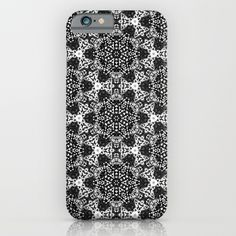 Black & White Dots iPhone & iPod Case