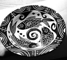 Sgraffito Bowl, Liz Crowley