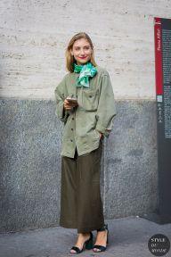 Milan Fashion Week SS 2016 Street Style: Jenny Walton