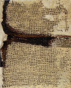 Sandra Blow, Sacking and Plaster (1956)