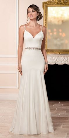 Stella York Sexy Silk Wedding Dress style 6332 a