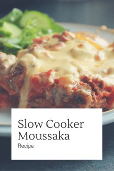 Cooking moussaka in the slow cooker was a revelation! This is my tried and tested recipe that will please the whole family.