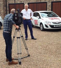 Behind the scenes with RED CEO and Sky News