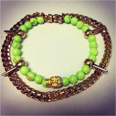 Neon spike skull  - click picture to purchase! - $28