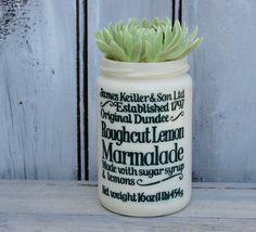Marmalade Crock Lemon Marmalade James by SweetPetuniaVintage
