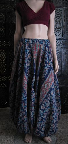 flowered harem pants. this type of pant is the most comfy thing in the whole world