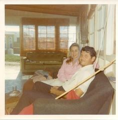 Mom and Dad in rosarito beach house