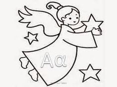 Angel coloring page, Christmas Angel colouring page- DinoKids. Angel Coloring Pages, Printable Adult Coloring Pages, Descendants Coloring Pages, Christmas Angels, Christmas Crafts, Learn Greek, Reading Projects, Craft Gifts, Little Ones