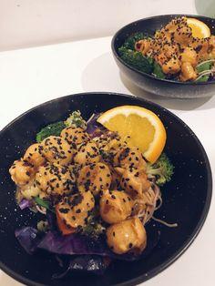 Vegan Takeout Style Orange Not-Chicken | eat, write + explore