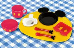 Mickey Mouse Baby Dinnerware Set
