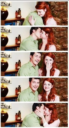 The Lizzie Bennet Diaries: Jane and Bing Lee.  Too much cute. <3