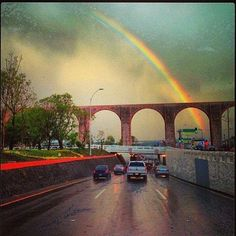 My place!! #queretaro #rainbow #colorfull #loveit #bq #love #rain #rainyday