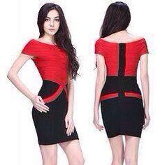 Maxi Bandage Dress