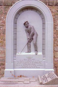 Tommy Morris Jr - grave in St. Andrews.