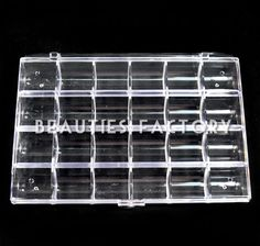 1pc Large Empty Storage Case (24 Compartments)