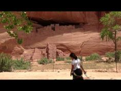 Amazing Grace in Canyon De Chelly by Brent Haines | Wood Sounds Flutes