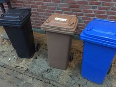 Mülltonnen - welche Mülltonnen für das Eigenheim benötigt werden - Plötzlich Bauherr Hausbau Blog
