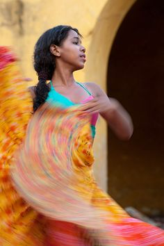 The Dancer, Cartagena de Indias, Colomiba.