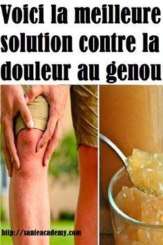 Voici la meilleure solution contre la douleur au genou qui régénère également vos os, articulations, tendons et ligaments! Tendon, Voici, Solution, Alternative, Food And Drink, Medical, Personal Care, Drinks, Arthritis