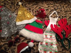 Picture THAT Christmas Props. #PictureTHAT #Photobooth #Hire #Sydney #Photo #Booth #Props #Glasses #OversizedTie #Fun #Laughs #Christmas #Hats #Red&Green #Tinsel #Moustache #woohoo