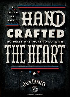Typography & Lettering / Jack Daniel\'s Is Back With More Patriotic Posters | Adweek