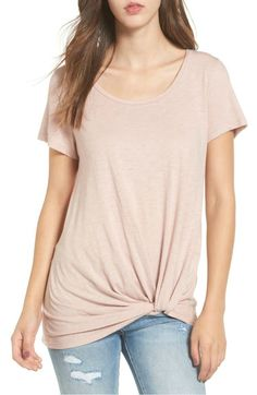 6aa2bf9a318c This twist-front top is perfect paired with jeans or white capris