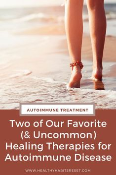 We've tried A LOT of healing therapies, techniques and tips throughout the past decade of reversing our autoimmune symptoms. Here are two surprisingly cheap and uncommon therapies that gave us amazing results. #autoimmunediseasetreatment #autoimmunediseasetherapy