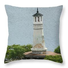 "Seddon Light 14"" x 14"" Throw Pillow by Tammy Finnegan.  Our throw pillows are made from 100% cotton fabric and add a stylish statement to any room.  Pillows are available in sizes from 14"" x 14"" up to 26"" x 26"".  Each pillow is printed on both sides (same image) and includes a concealed zipper and removable insert (if selected) for easy cleaning."