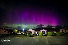 Aurora Australis - suburbia - Hobart