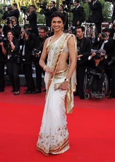 Deepika Padukone On Tour Premiere at Cannes 2010