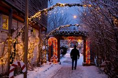 Christmas in Langley, Whidbey Island, Wa Oak Harbor Washington, Whidbey Island Washington, Oregon Washington, Vacation Places, Vacation Spots, Evergreen State, Island Life, Pacific Northwest, Places To See