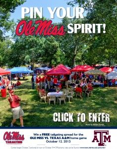 2013 Pin to Win Contest--tailgate party Ole Miss Tailgating, Tailgating Ideas, Ole Miss Girls, A&m Football, M&m Game, Ole Miss Rebels, University Of Mississippi, Funny Tattoos, Celebrity Travel