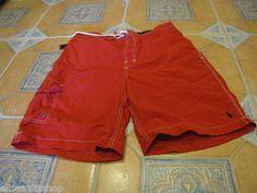 Men's Polo Ralph Lauren swim shorts surf trunks red 4177635 SPOT $59.50 NEW M MD
