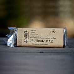 Infused With Raw Organic Honey And Scrumptious Bee Pollen http://www.honeycolony.com/shop/honeycolony-pollinate-bar/