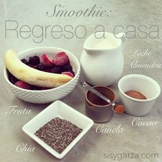 Smoothies www.sisygarza.com
