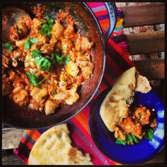 Aromatic Chicken Handi - this might work well in my tandoori I think